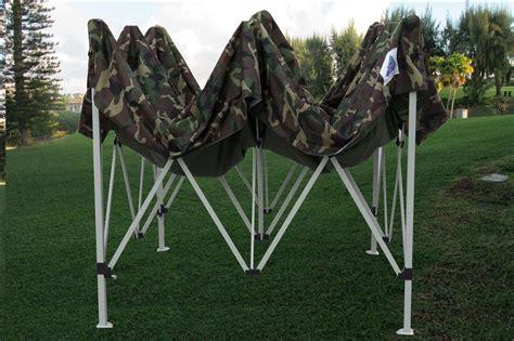 pop canopy party tent gazebo ez camouflage model ebay