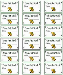 reward bucks template bing images With classroom bucks template