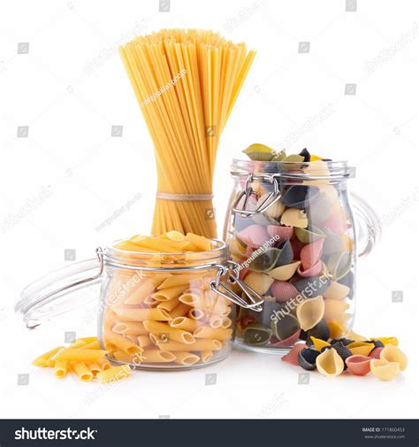 linen chest cuisine collection pasta stock photo 171860453