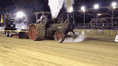 Tractor Ride Wanna Awesome Steam Fill Flame