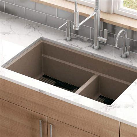 peak bowl undermount kitchen sink made of granite