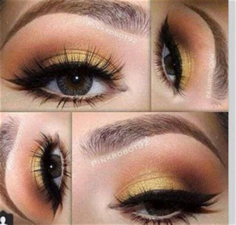 mustard yellow eyeshadow beautylish