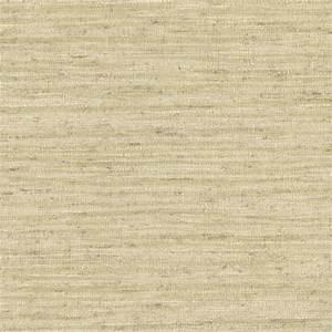 Brewster Bennie Sand Faux Grasscloth Wallpaper