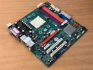 Acer Aspire T180 Ecs Am2 Motherboard   Backplate Mcp61sm