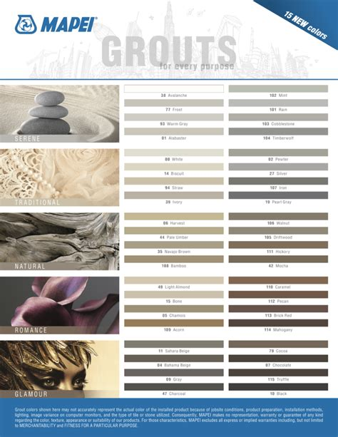 tile grout colors grout color matters tilesunlimitedny