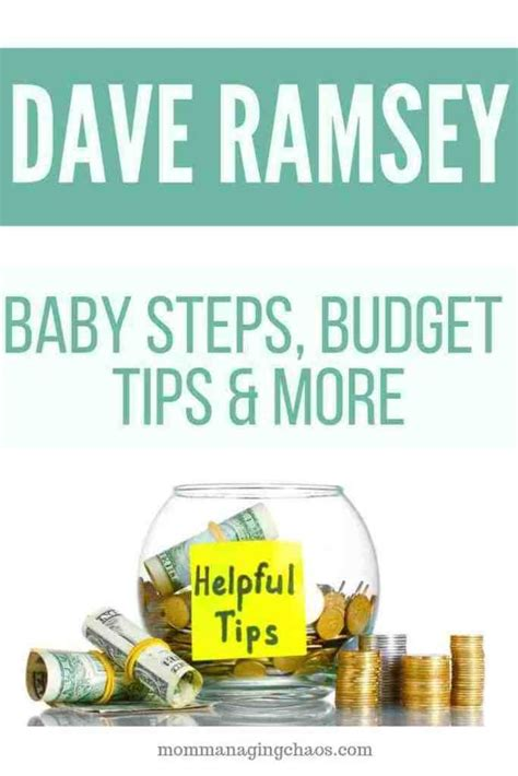 Disability insurance is often overlooked, but dave ramsey makes sure you clearly see the importance of this coverage. Dave Ramsey Money Tips   Money advice, Money management, Personal finance