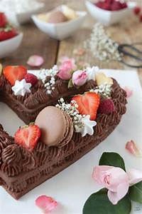 Schoko Cream Tarte Letter Cake Number Cake Sweets