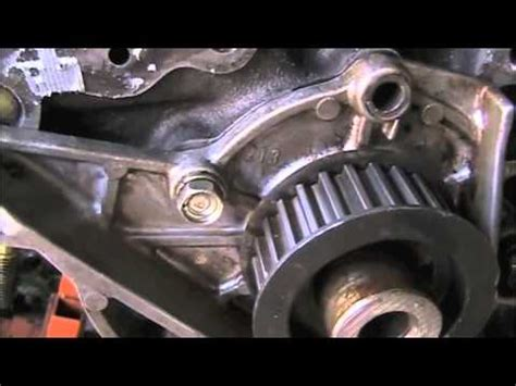 isuzu front main seal installation youtube