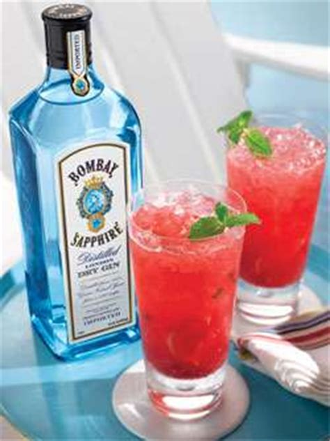 sapphire raspberry mint drink recipe cocktail