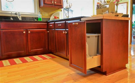 floors with kitchen cabinets rosewood stained maple traditional kitchen atlanta 9532