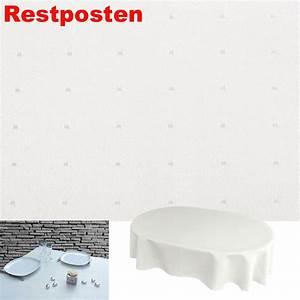 Tischdecke Weiß Bügelfrei : punkte oval 130x260 creme weiss tischdecke b gelfrei ~ Eleganceandgraceweddings.com Haus und Dekorationen