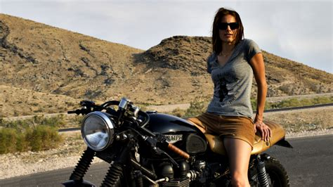 Women, Cafe Racer, Women With Bikes, Glasses, People