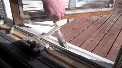 replace  operator   pella casement window youtube