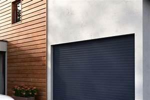 portail cloture porte de garage volet garde corps With porte de garage enroulable et volet persienne pvc