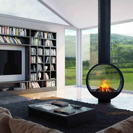 high efficiency gas fire  double sided gas fire