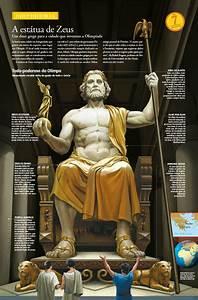 Zeus, Statue, Seven, Wonders, Of, The, Ancient, World