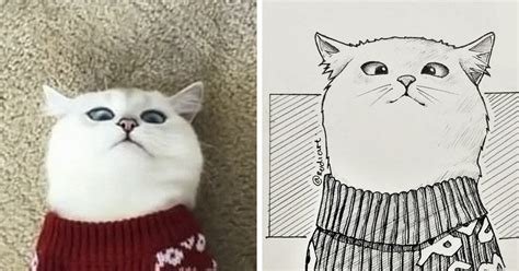 indonesian illustrator sketches real people  cartoons