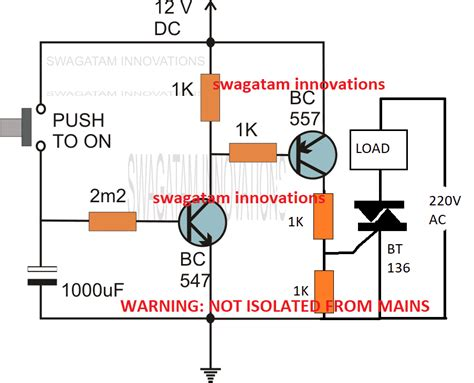 simple delay timer circuits explained circuit projects