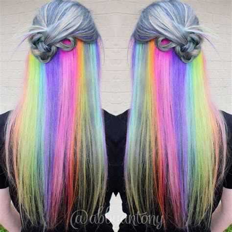Holographic Hair Color Hair Colors Ideas