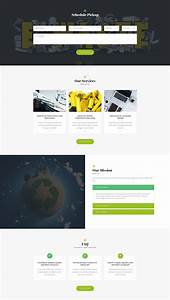 professional templates gogreen waste management and recycling html template