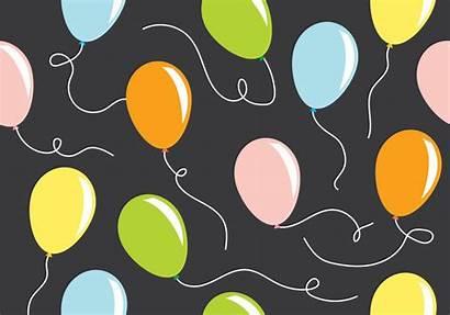 Balloon Pattern Vector Graphics Vectors Clipart