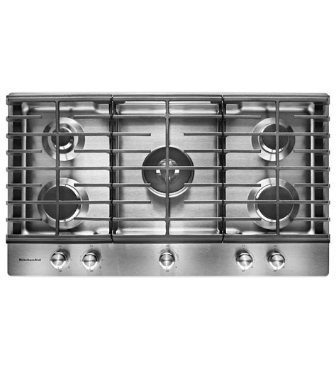Kitchenaid Kcgs956ess 36 5burner Gas Cooktop With