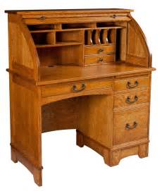 amish mission rolltop desk secretary computer home office