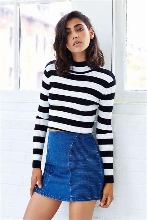 Denim Skirts Trend 2018   FashionGum.com