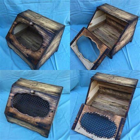 Wood Pallet Bread Box / Bread Holder   Pallets Pro