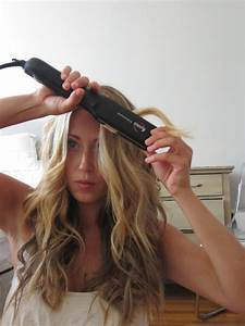 How To Do Easy Beach Waves With Flat Iron Hair