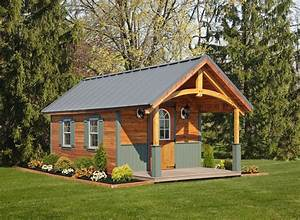 Amish cabins simple log cabins built for relaxation for Amish built buildings
