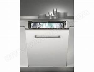 Lave Vaisselle Tout Integrable : rosieres rlf6621e lave vaisselle tout integrable 60 cm ~ Nature-et-papiers.com Idées de Décoration