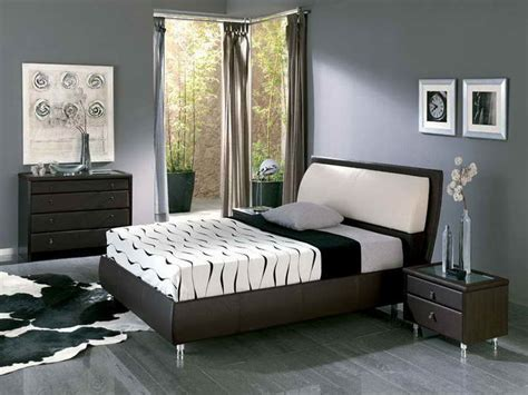 master bedroom paint designs miscellaneous master bedroom painting ideas interior 16110 | Master Bedroom Painting Ideas with Gray Curtain