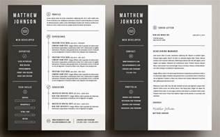 Resume Size Illustrator by The Best Cv Resume Templates 50 Exles Design Shack