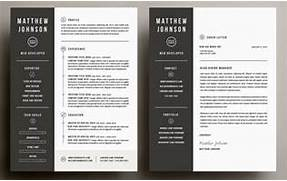 The Best CV Resume Templates 50 Examples Design Shack Carly Resume CV Template Word Photoshop InDesign Sample Cover Letter Cover Letter Template Indesign Tamara Resume CV Template Word Photoshop InDesign