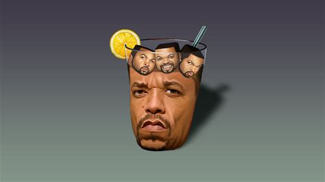 Ice-T Filled with Little Ice Cubes [1920x1080] : wallpapers