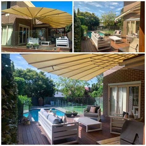 hawaii fully retractable awnings  home  restaurant shade video launched