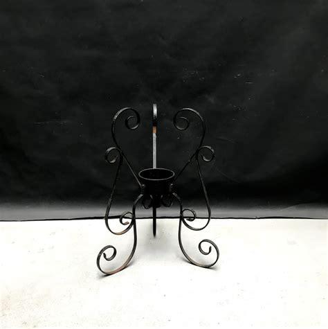 porta vasi in ferro piccolo porta vasi in ferro battuto anni 50