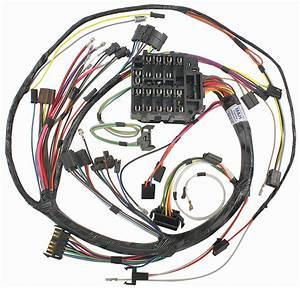 M U0026h Skylark Dash  Instrument Panel Harness Column Shift  At