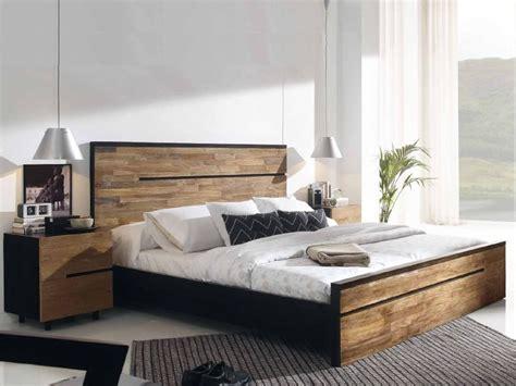 chambre en teck lit barbade en teck massif et acacia haut de gamme meuble