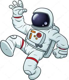 Cartoon Astronaut Clip Art