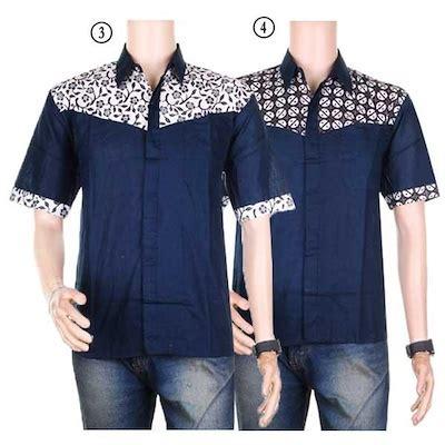 qoo10 baju batik kombinasi pakaian pria