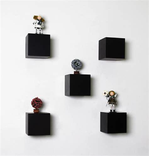 Individual Wall Shelves by Black Block Floating Shelf 150x150x150mm Mastershelf