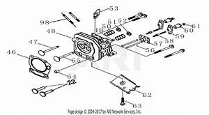 Homelite Hg6000 Generator Parts Diagram For Cylinder Head Assy