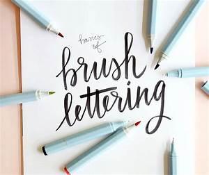 Brush Lettering Basics at Consumer Crafts - Persia Lou