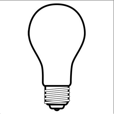 How To Draw A Light Bulb by Free Light Bulb Drawing Free Clip Free Clip