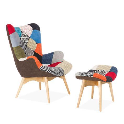 soldes fauteuil bureau fauteuil et ottoman freather patchwork chaises icônes