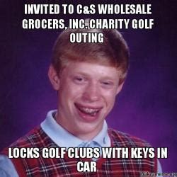 Invited to c&s wholesale grocers, inc. charity golf outing ...