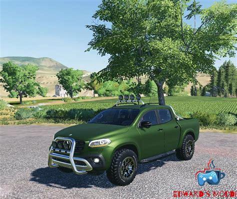 fs mercedes  class  simulator games mods