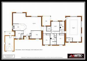 plan maison etage 3 chambres gratuit 10 plans de With plan maison etage 3 chambres gratuit